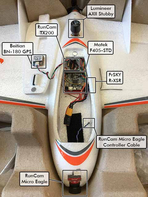Image showing the overview of the Strix Nano Goblin iNav build..