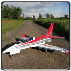 An image of a Taft Hobby Viper Jet EDF RC jet